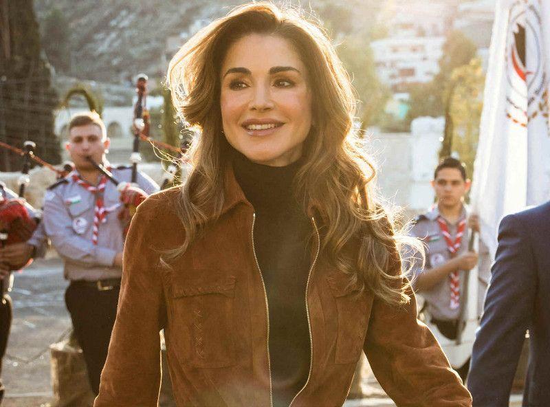 Photos La Fabuleuse Carte De Voeux De Rania De Jordanie Et De Sa Famille