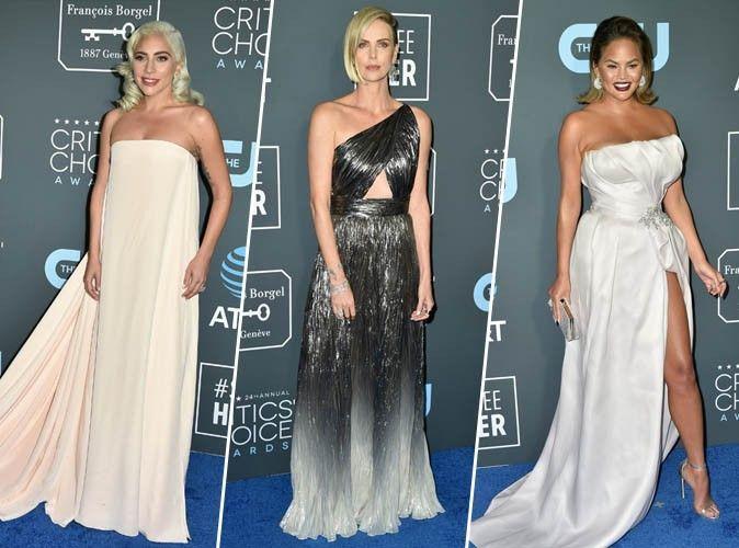 Photos : Lady Gaga, Charlize Theron, Chrissy Teigen... Découvrez les plus beaux looks des Critics Choice Awards