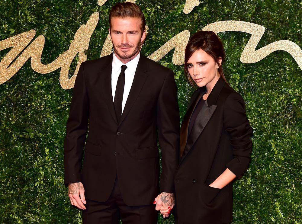 Les Beckham présentent