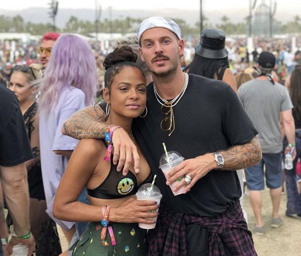 M. Pokora et Christina Milian : des amoureux stylés à Coachella !