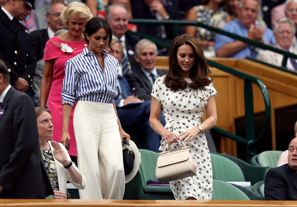 Meghan Markle et Kate Middleton : Leur première sortie entre filles à Wimbledon