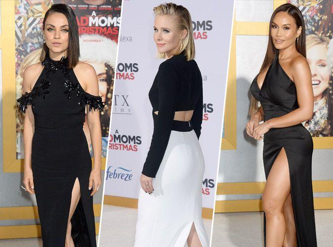 Mila Kunis : En concurrence avec Kristen Bell et Daphné Joy à la première de Bad Mom 2 !
