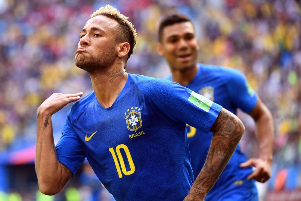 Mondial 2018 : Neymar inscrit son premier but et fond en larmes !