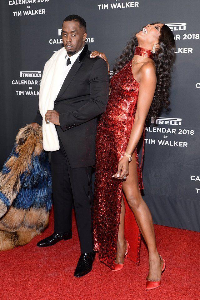 Naomi Campbell et P. Diddy main dans la main à New York !