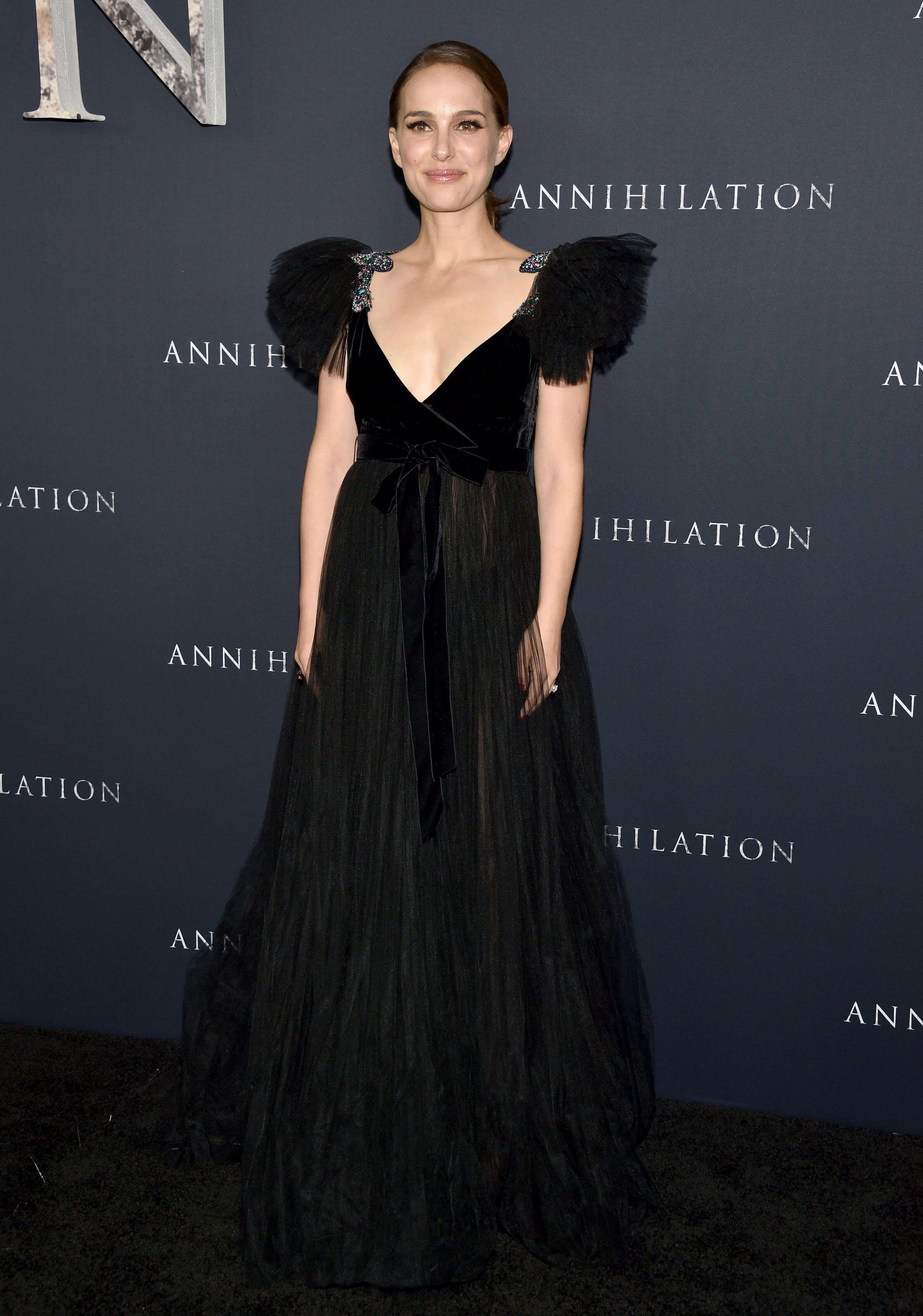 Natalie Portman : Un décolleté assassin lors de l'avant-première d'Annihilation !