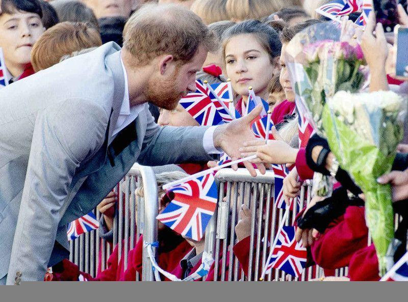 04e24c53bae7 Photos   Prince Harry   Il n y a pas que Meghan Markle qui enfreint