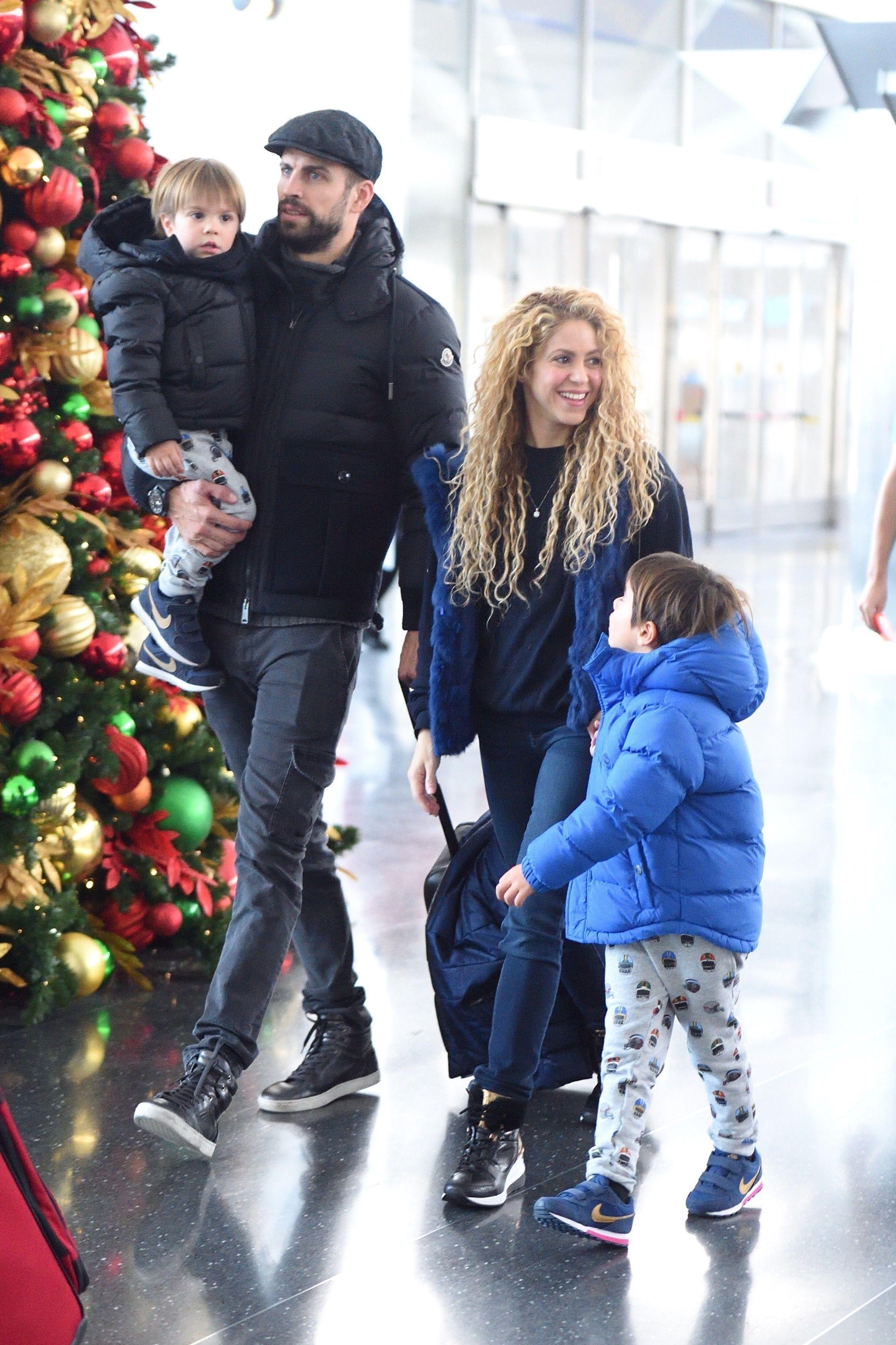 Shakira et Gerard Piqué : devinez ce qu'ils ont fait pour Noël !