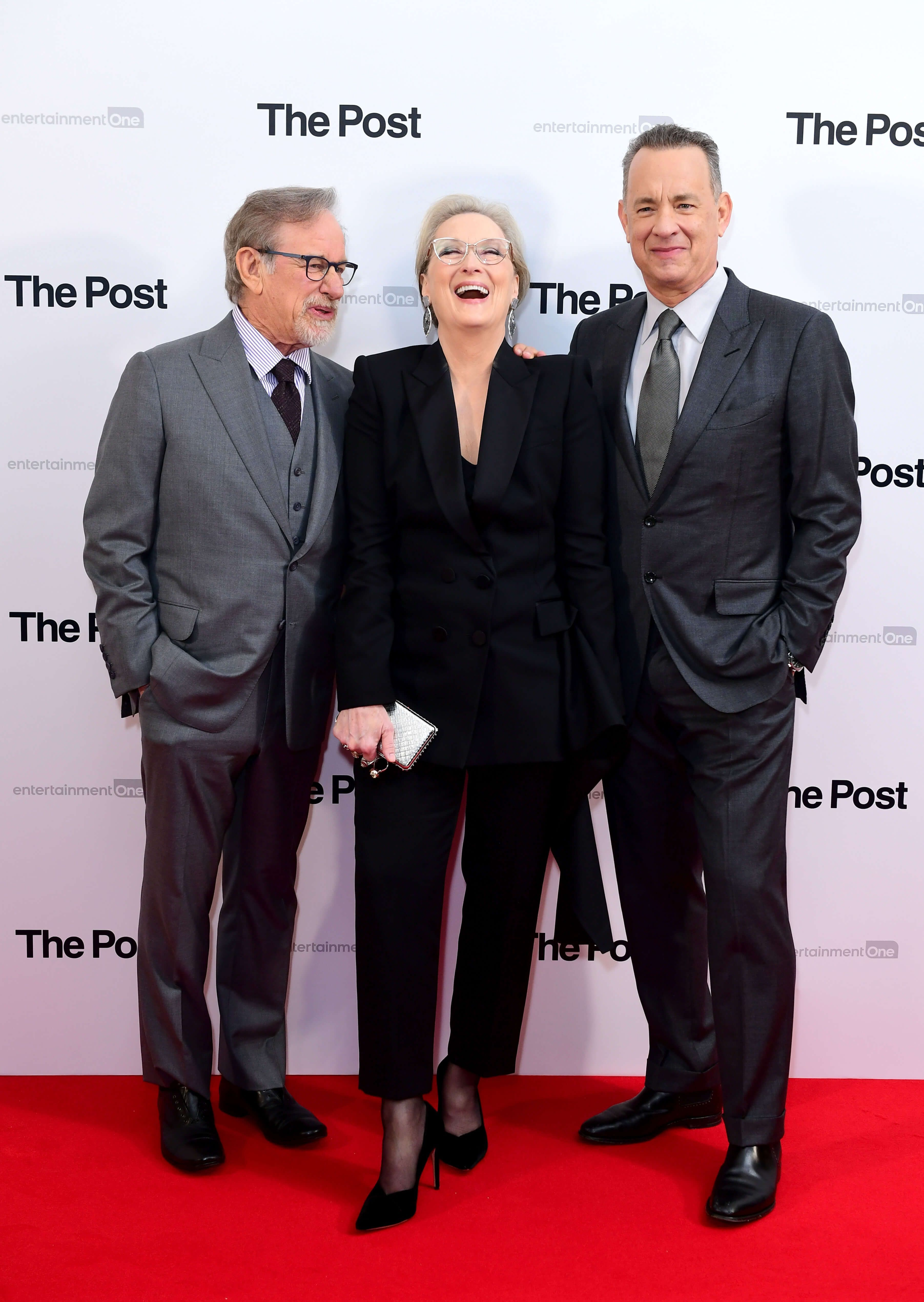 Steven Spielberg, Meryl Streep, Tom Hanks... l'équipe de rêve de Pentagon Papers