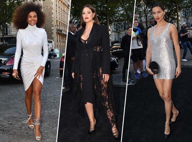 Tina Kunakey, Ashley Graham, Adriana Lima... Tous les plus beaux looks de la soirée Vogue