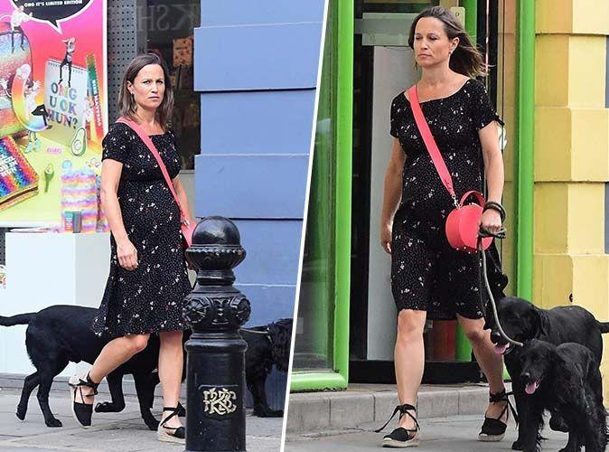 Pippa Middleton : Enceinte de six mois, elle se la joue incognito dans les rues de Londres