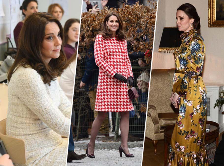 Public Royalty : Kate Middleton continue son défilé de mode en Suède !