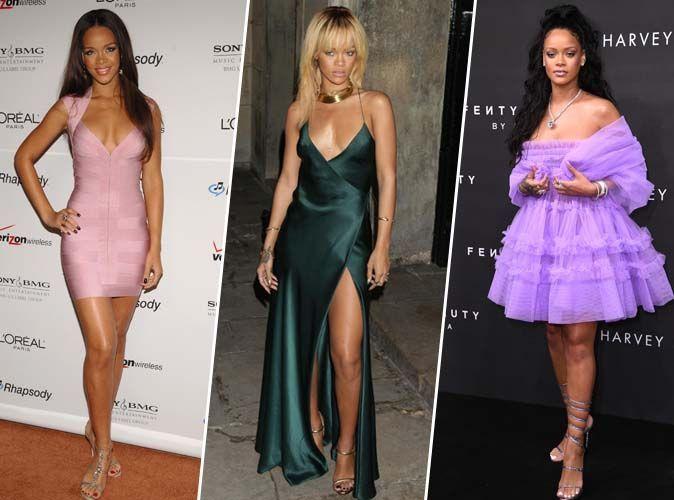 Rihanna a 30 ans ! Ultra mince ou avec quelques rondeurs, la bombe bardabienne reste la reine du style !