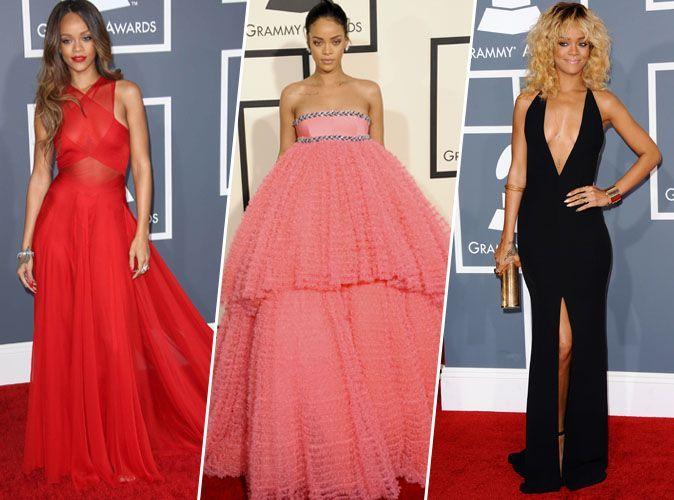 Rihanna chantera ce soir aux Grammy Awards... Retour sur ses apparitions sur le tapis rouge de la cérémonie !