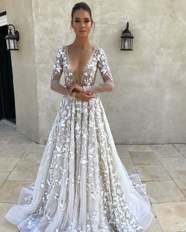 d6f5adde5e Robe de mariée 2018   découvrez LA grande tendance