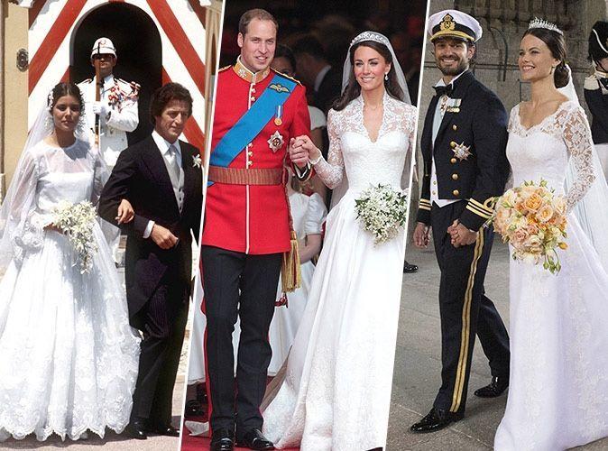 f83a8e4b2d5 Mariage   zoom sur les robes de mariées royales les.