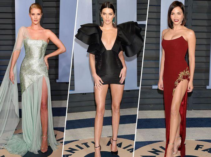 Rosie Huntington-Whiteley, Kendall Jenner, Jenna Dewan... zoom sur les looks de la Vanity Fair Oscar Party !