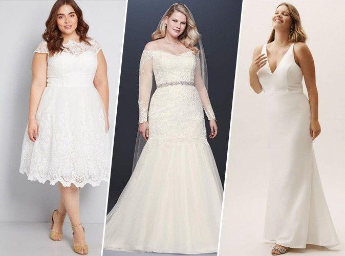 Shopping 6 Robes De Mariée Grande Taille Pour Tous Les Budgets