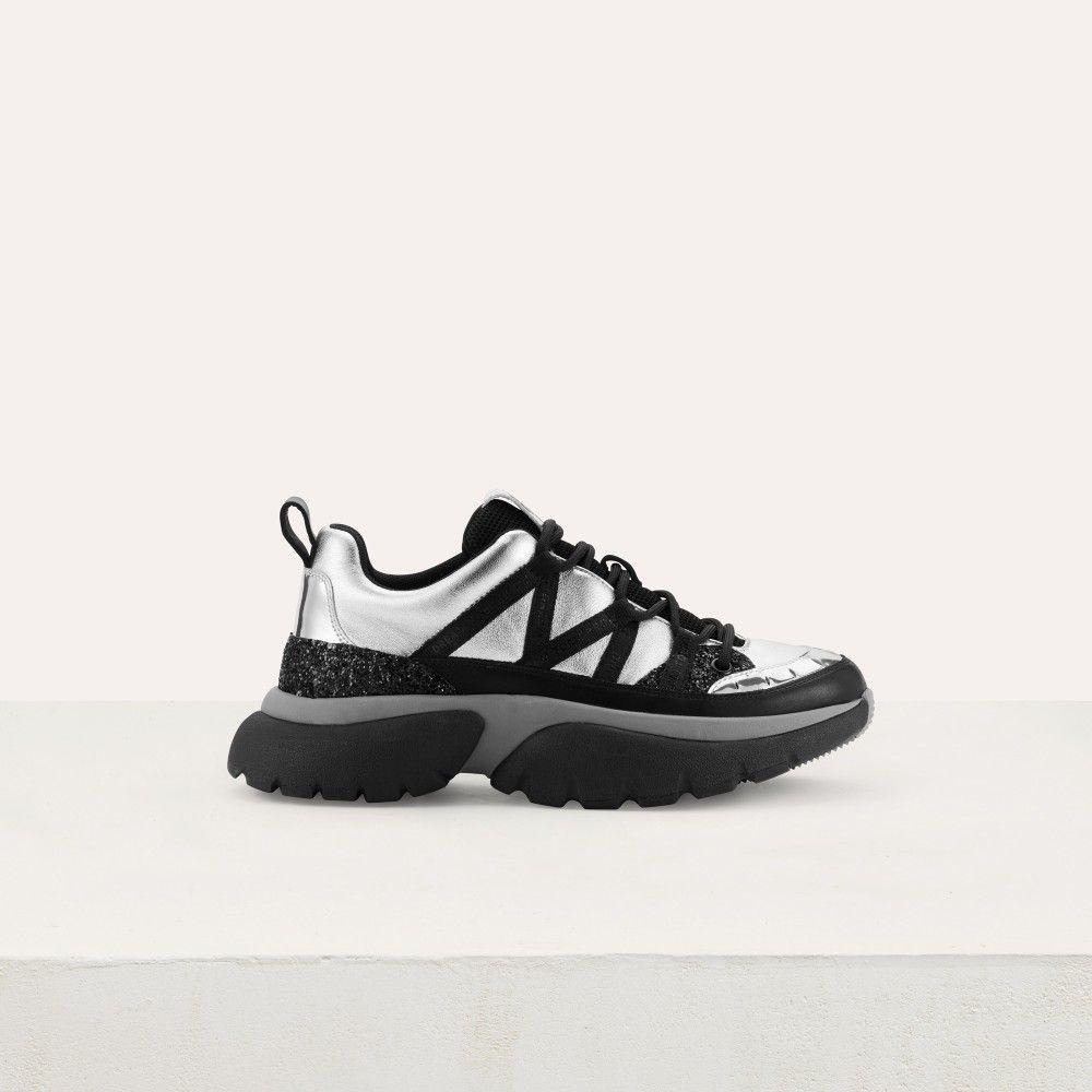nouvelle version pas cher à vendre prix d'usine Shopping : Maje lance sa ligne de baskets décalées et c'est ...