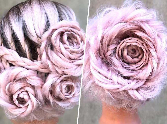 SPOTTED   Le Braided Rose Hairstyle, LA coiffure bohème qui fait des  ravages ! 3343c1dc3b9b