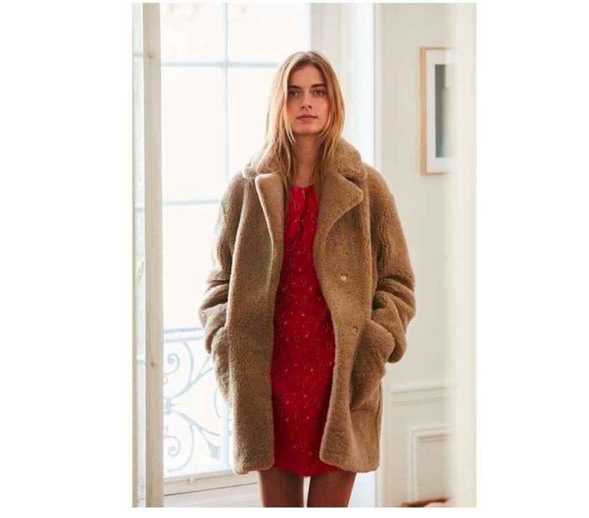 32a88357a69 Teddy Bear Coat   23 manteaux peluches parfaits pour affronter le froid