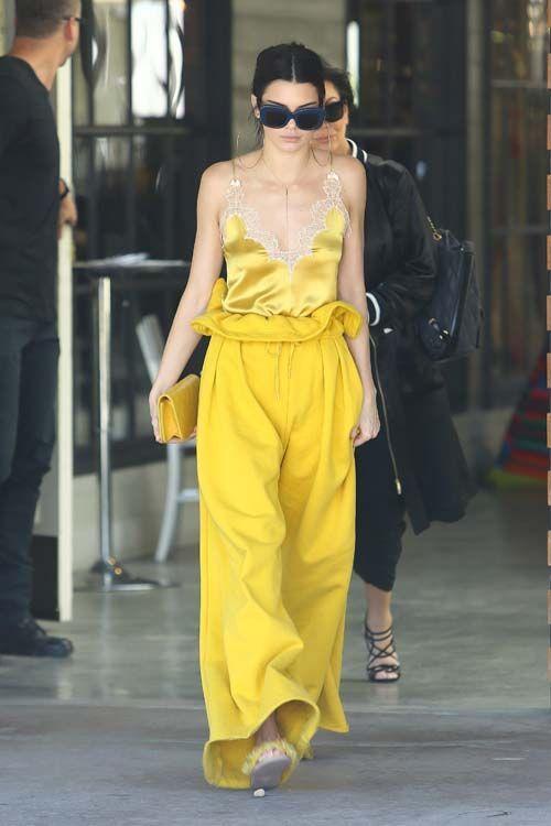Total look jaune : ce qu'il nous faut même en hiver !