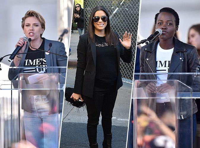 Women's March : Scarlett Johansson, Eva Longoria, Lupita Nyong'o... les stars continuent de se mobiliser