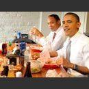 Photos : découvrez le péché mignon de Barack Obama !