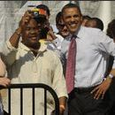 Barack Obama assiste aussi au concert...