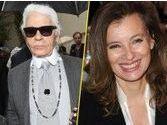 """Karl Lagerfeld au sujet du livre de Valérie Trierweiler : """"Elle a bien raison"""" !"""