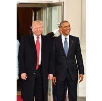 Photos : Investiture de Donald Trump : Barack et Michelle Obama donnent les clés de la Maison Blanche aux Trump !