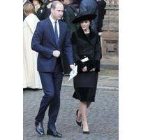 Photos : Kate Middleton et William : la famille rend hommage au duc de Westminster
