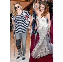 Photos : Vanessa Hudgens, Chloë Moretz, Kristen Stewart... les éclopés sont de sortie !