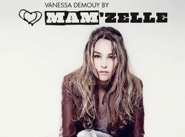 Mode : Vanessa Demouy, l'égérie de retour pour la collection automne-hiver 2013-2014 de Mam'zelle !