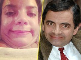 Lily Allen : quelque chose d'un Mr Bean !