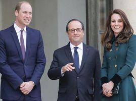 Photos : Kate Middleton et le Prince William sont à l'Elysée !