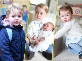 Photos : Kate Middleton : ses portraits de George et Charlotte la font entrer dans la légende !