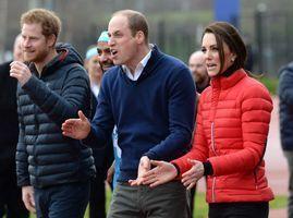Photos : Kate, William et Harry font la course pour la bonne cause