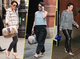 Photos : Lily Allen : trois tenues en une journée, elle assure son mini-défilé à New York !