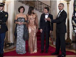 Photos : Michelle Obama : découvrez le prix extravagant de sa robe haute-couture !