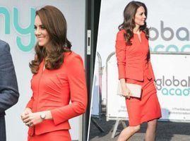 Photos : Sa nouvelle robe rouge va vous rendre verte de jalousie !