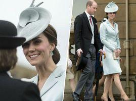 """Public Royalty : Kate Middleton la joue """"Reine des Neiges"""" à la garden party de Buckingham !"""