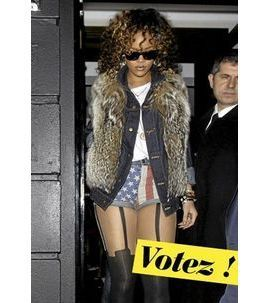 Public Glam Awards 2011 : le pire look est attribué à Daphné Burki !
