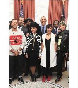 Barack Obama : il a réuni la crème du hip-hop (Alicia Keys, Timbaland, Ludacris) à la Maison Blanche !
