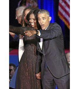Photos : Barack & Michelle Obama Bienvenue dans la vie d'après !