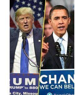 Photos : Donald Trump vs Barack Obama : changement de style historique à la Maison Blanche !