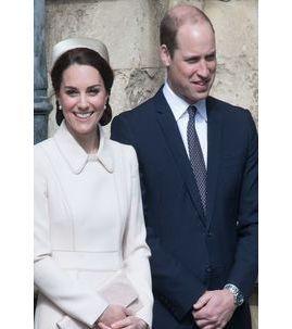 Kate Middleton et le prince William : un couple tout sourire pour la messe de Pâques !