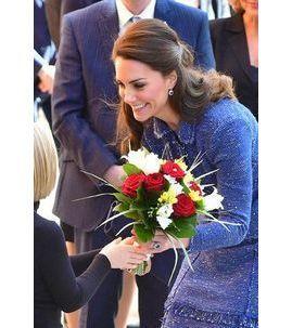 Photos : Kate Middleton rend visite aux enfants malades !
