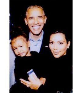 Photos : Kim Kardashian rend hommage à Barack Obama sur Instagram !