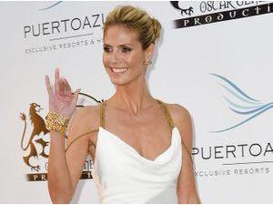 Photos : Cannes 2014 : Heidi Klum : gracieuse, elle fait son entrée au festival !