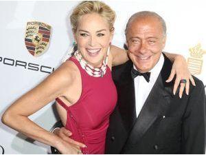 Photos : Cannes 2014 : Sharon Stone : complètement déchaînée à la soirée De Grisogono !